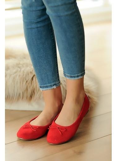 Pembe Potin A750-20 Kadın Ayakkabı A750-20 Kırmızı
